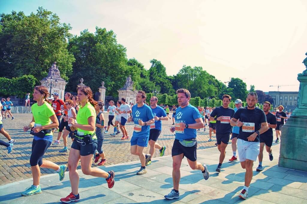 Gazelles 20km door Brussel